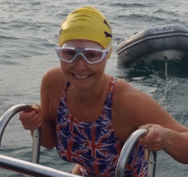 After more stop start… I am a Channel swimmer!